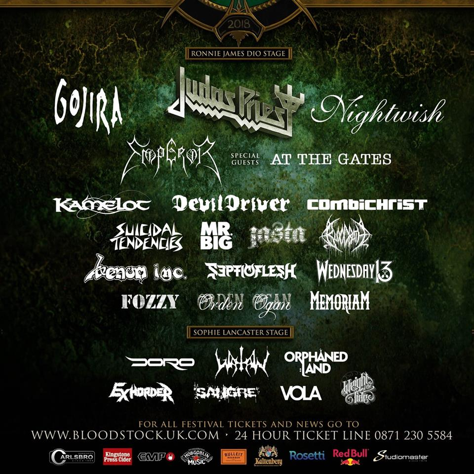Bloodstock Update Jan 2018