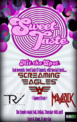 Sweet Taste EP Launch Poster 2