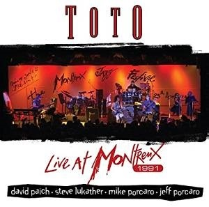 Toto - Live At Montreux artwork