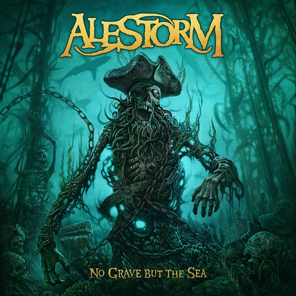 Alestorm No Grave artwork