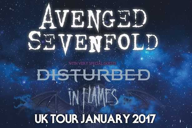 A7X Disturbed Poster - Square