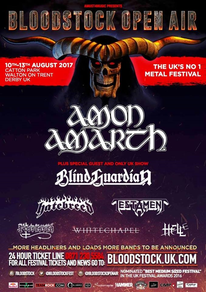Bloodstock First Announcment