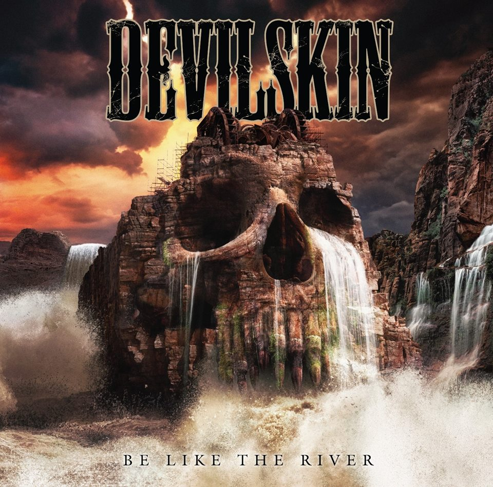 Devilskin - Be Like The River artwork