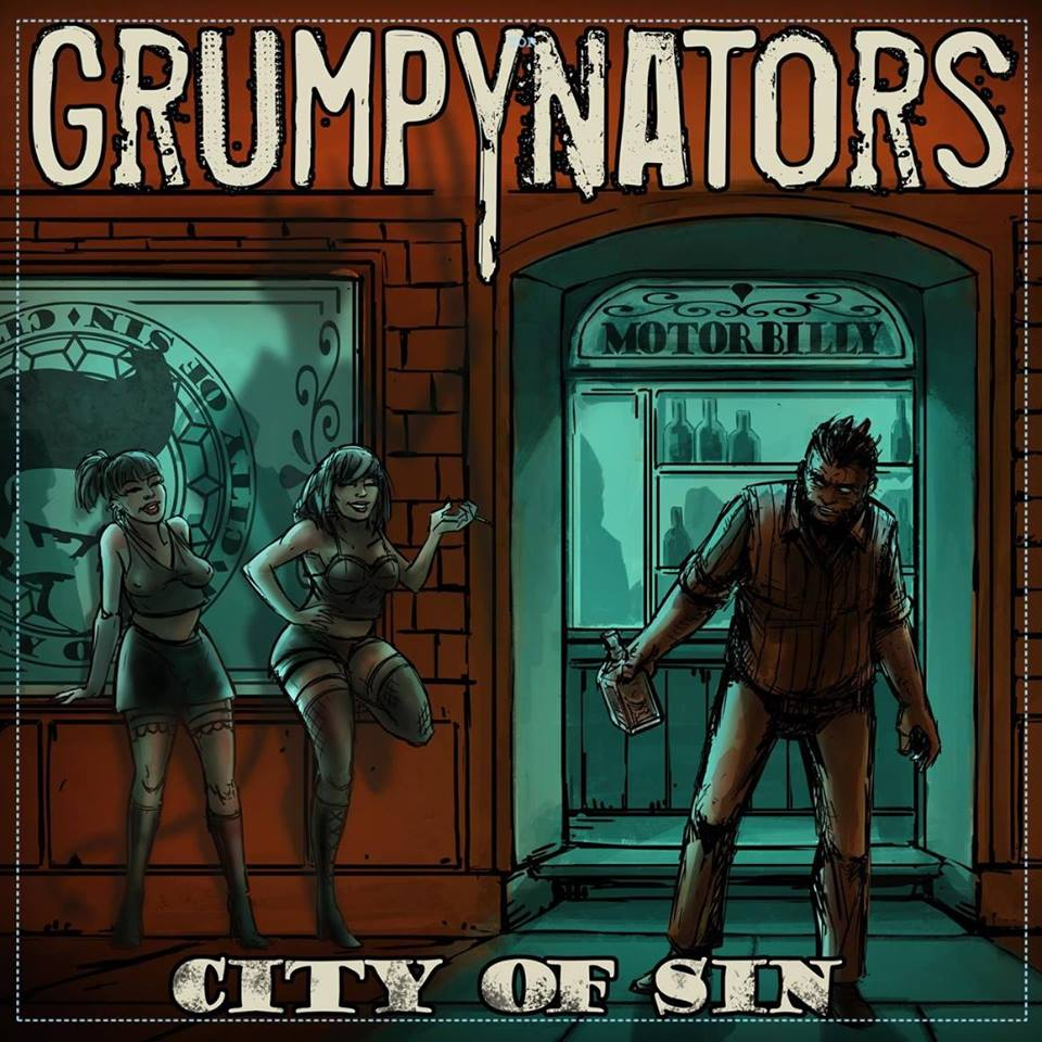 Grumpynators - City Of Sin artwork