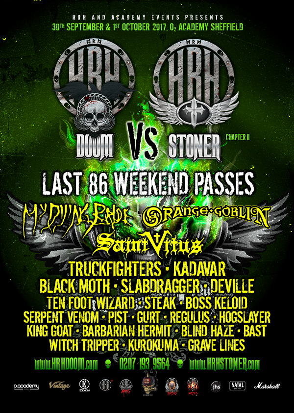 HRH Doom final announcement