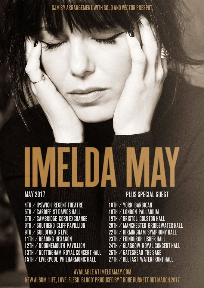 Imelda May tour poster