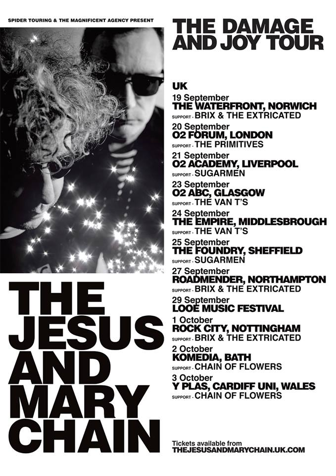 Jesus AndMary Chain poster
