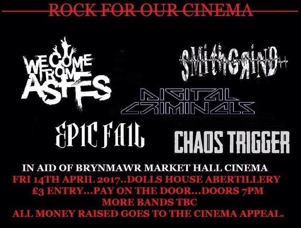 Rock For Our Cinema poster