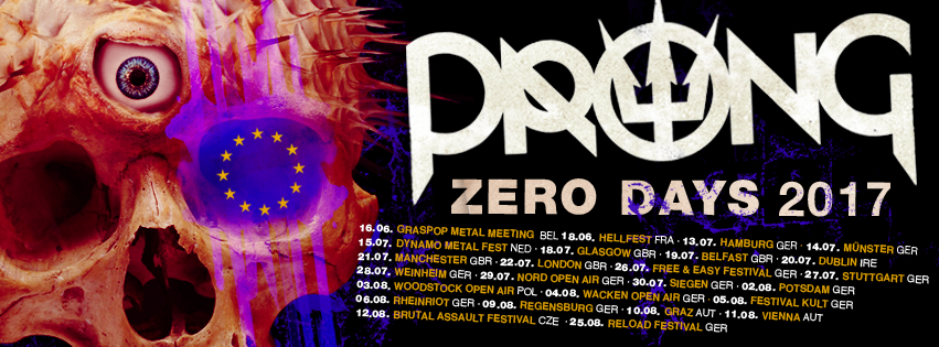 Prong 2017 Tour Flyer