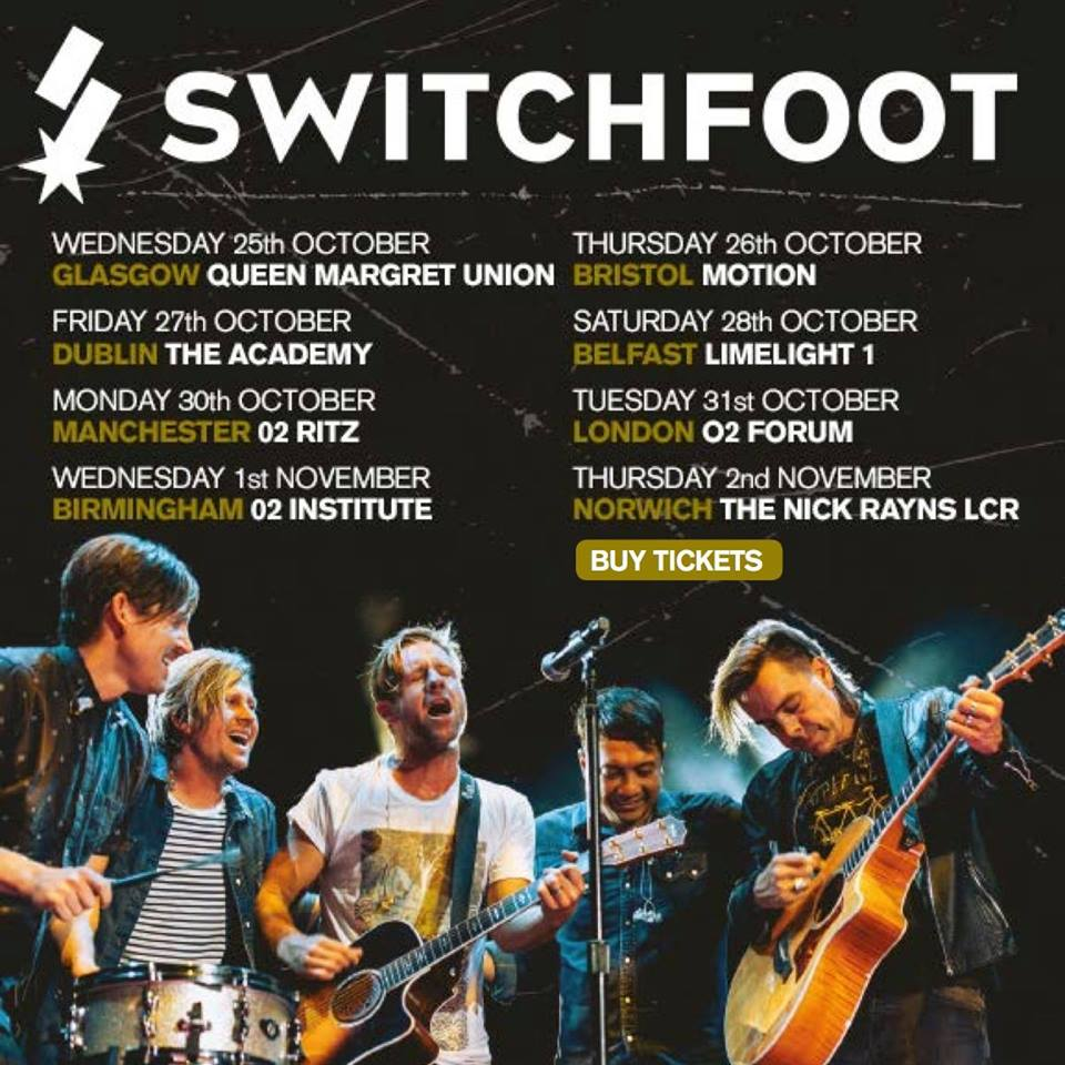 Switchfoot tour poster