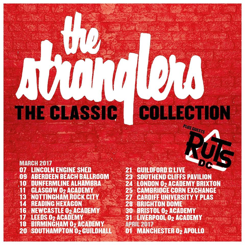 The Stranglers tour poster