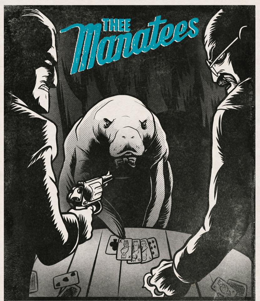 Thee Manatees artwork