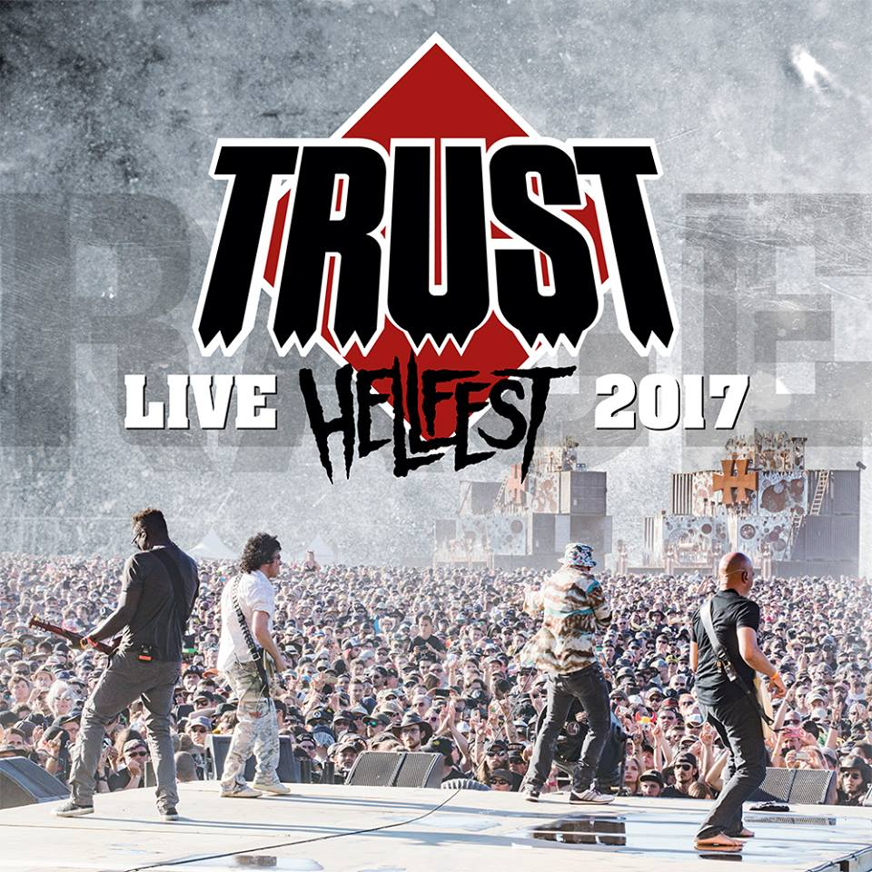 Trust Live at Hellfest cover