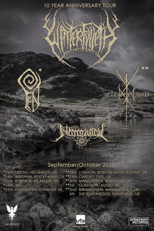 Winterfylleth tour poster